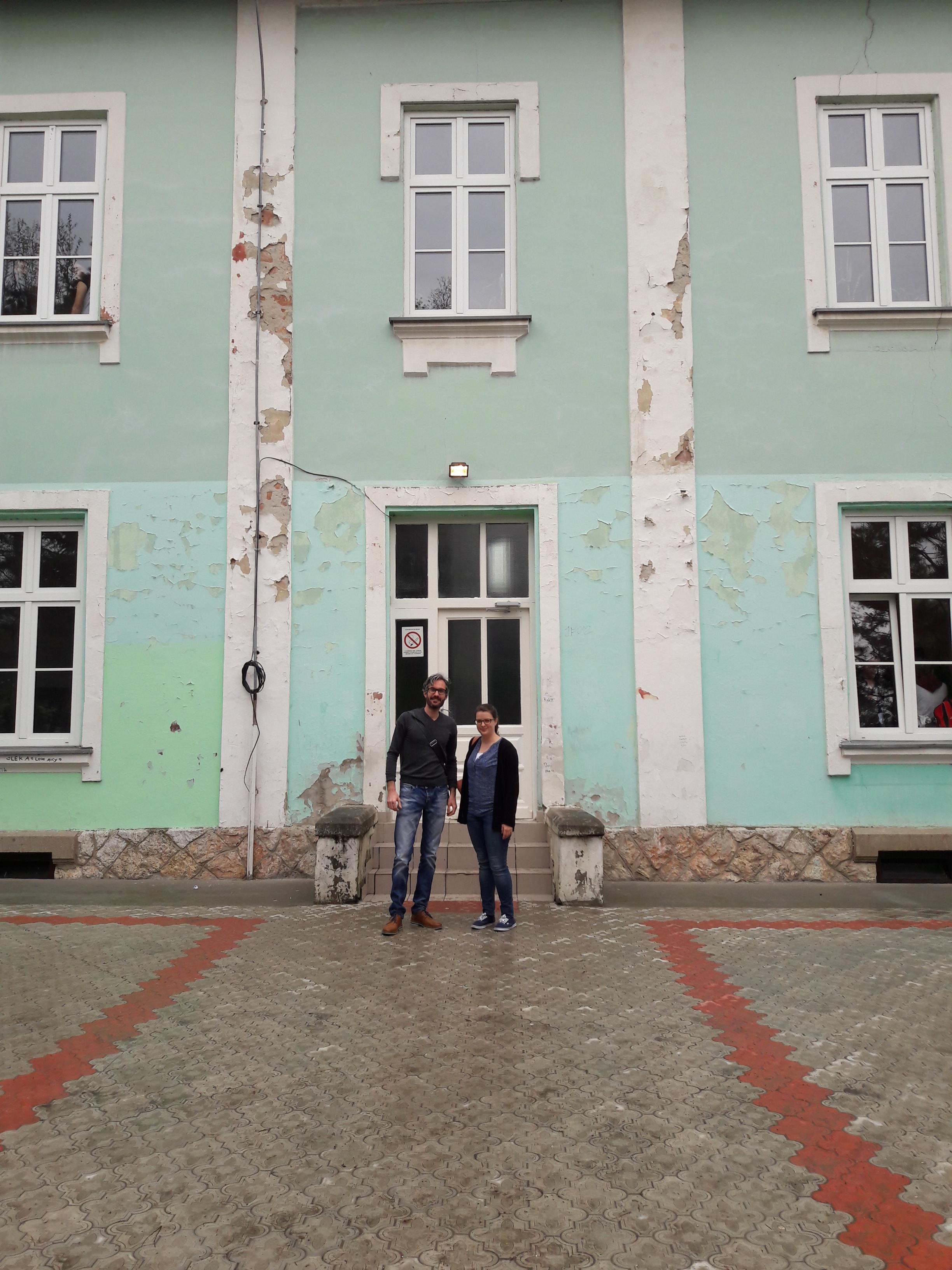 Lisa Breitschwerdt und Reinhard Lechner in Serbien