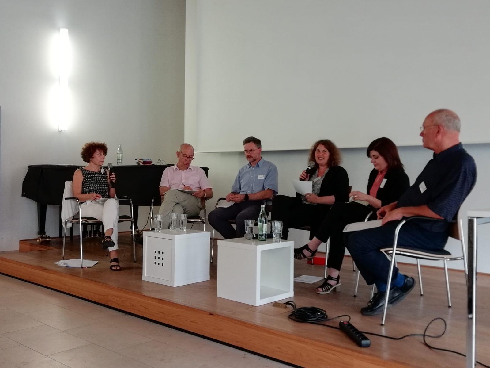 v.l. I. Schüßler, G. Denneborg, A. Klinger, R. Egetenmeyer, M. Schröder, W. Würfel